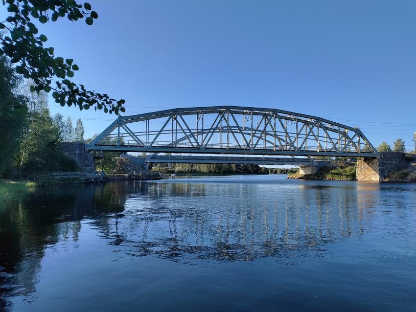 Paltamon sillat kesällä