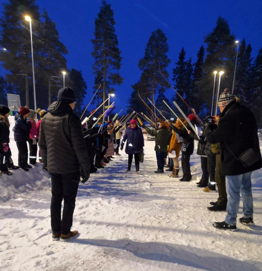 Korpitien koulun vararehtori Eija Alasalmi jää eläkkeelle 1.2.2021