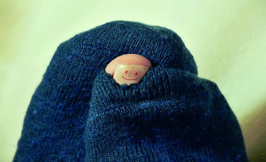 Ensimmäiset sukat vastaanotettu Paltamo-villasukkamallin suunnittelukisassa