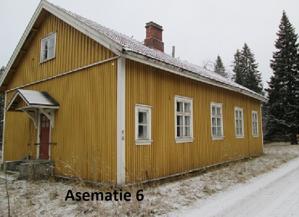 Asematie 6, hirsinen asuinrakennus